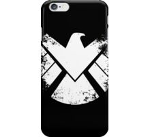 SHIELD Badge - White iPhone Case/Skin