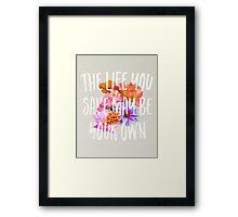 TLYS Framed Print