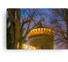 Sforza castle Canvas Print