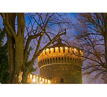 Sforza castle Photographic Print
