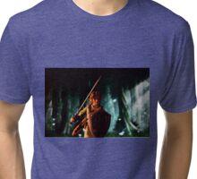 The legend of Zelda: Link to the battle Tri-blend T-Shirt