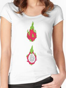 Dragon fruit Women's Fitted Scoop T-Shirt