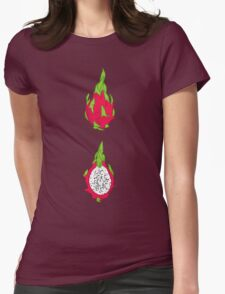 Dragon fruit Womens Fitted T-Shirt