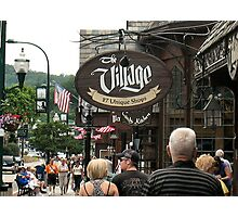 """""""Gatlinburg, Tennessee, Series,  #2... A Quaint Little Shopping Mall""""... prints and products Photographic Print"""