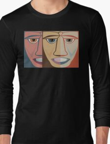 FACES #12 Long Sleeve T-Shirt