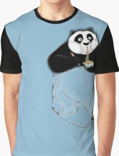 Kung Fu Po-cket Graphic T-Shirt