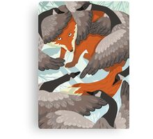 Smirre Fox Canvas Print