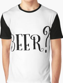 Party Beer Drink Retro Queston T-Shirts Graphic T-Shirt