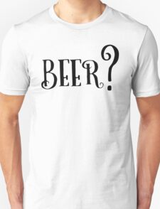Party Beer Drink Retro Queston T-Shirts T-Shirt