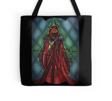 King of the undead - Stained Glass Villains Tote Bag