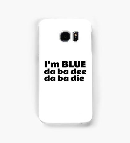 Blue Techno Party Music Dance Samsung Galaxy Case/Skin