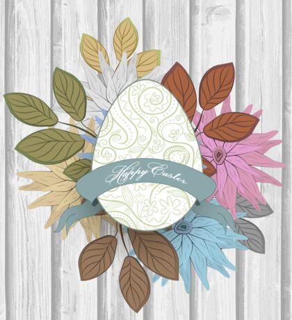 Easter Background Sticker