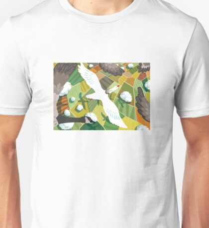 Nils With Wild Geese Unisex T-Shirt