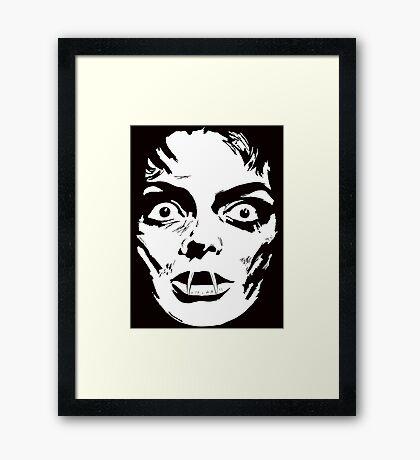 Mask of Satan  Framed Print