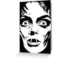 Mask of Satan  Greeting Card