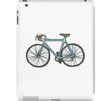 Drawing of a bike (fixed gear) iPad Case/Skin