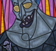 Underworld God - stained glass villains Sticker