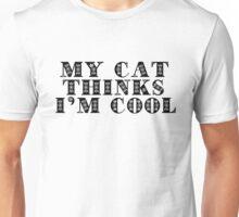 I Love Cool Cats Text Unisex T-Shirt