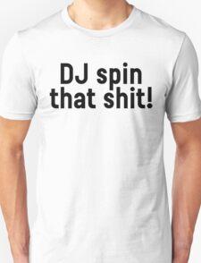 DJ Party Music Dance Text T-Shirt