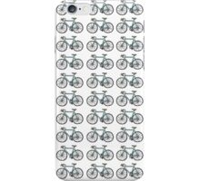 Drawing of a bike (fixed gear) - wallpaper design iPhone Case/Skin