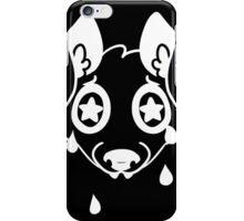 crying dog iPhone Case/Skin