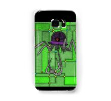 Robotic Bowler Hat - stained glass villains Samsung Galaxy Case/Skin