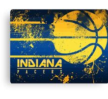 Indiana Pacers NBA Canvas Print