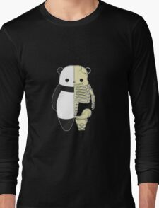 squelette panda  Long Sleeve T-Shirt