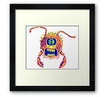 Eye of the Deep Framed Print