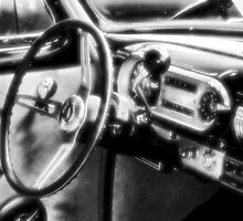 """Inside a Classic Chevy""... prints and products by © Bob Hall"