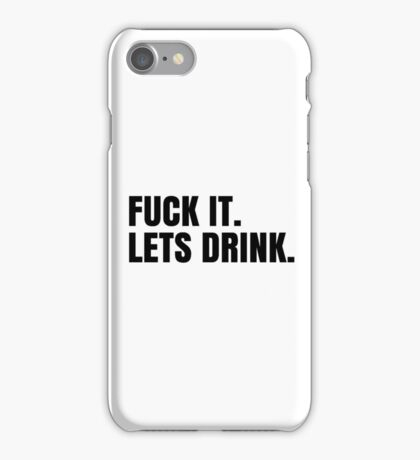 Party Hard Drink Cool Design iPhone Case/Skin