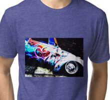 Instead of Scrapyard Heaven ~ 'Time' ~ pop style Tri-blend T-Shirt