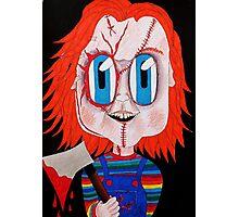 Chucky  Photographic Print