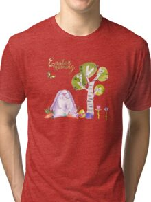 Easter Morning- lovely Eastergreetings  Tri-blend T-Shirt