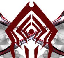 Warframe Stalker Clan Emblem Sticker