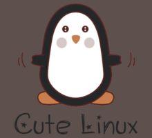 Cute Linux Baby Tee