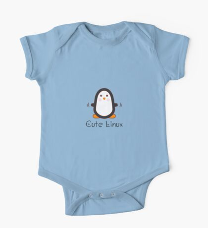 Cute Linux One Piece - Short Sleeve