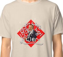 You were right to go lower; The Price is Right! Classic T-Shirt