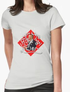 You were right to go lower; The Price is Right! Womens Fitted T-Shirt