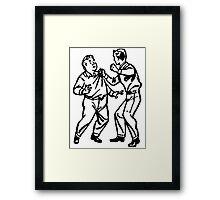 Bully Framed Print