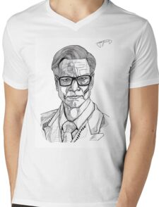 Colin Firth - Kingsman Mens V-Neck T-Shirt