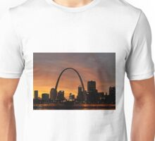 St. Louis Missouri at Sunset Unisex T-Shirt