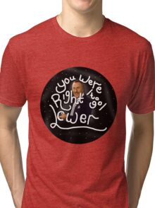 You were right to go lower; The Price is Right! Sticker (Version 2) Tri-blend T-Shirt