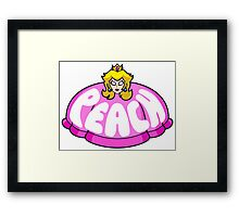 Don't Mess With The Dress Framed Print