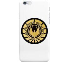Battlestar Galactica Golden Logo iPhone Case/Skin
