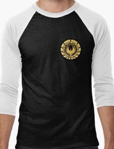 Battlestar Galactica Golden Logo Men's Baseball ¾ T-Shirt