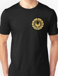 Battlestar Galactica Golden Logo T-Shirt