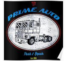 Prime Auto Truck Poster