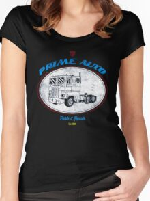 Prime Auto Truck Women's Fitted Scoop T-Shirt
