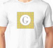 G Checkard Unisex T-Shirt
